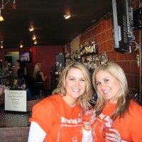 Carrie McLaren of Brewing Hope and Shannon Ensor of Team Ensor