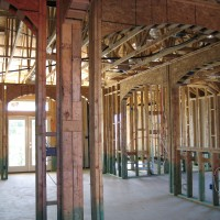 Framing of Ryland Home in Lakeway Texas