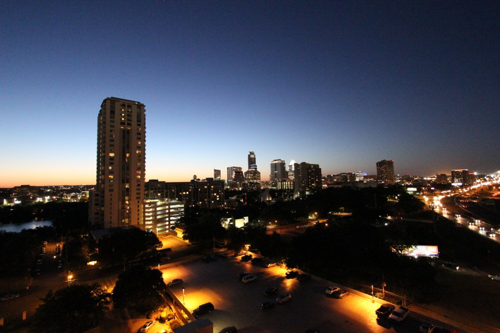 Downtown Austin - Skyline View