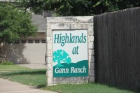 Highlands at Gann Ranch - Welcome Sign