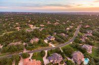 Sunset Views from a Neighborhood in Austin TX