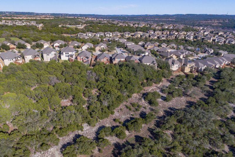 Steiner Ranch - Aerial View of Greenbelt